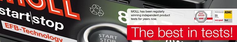 Acumulator auto Moll Start/Stop EFB 60Ah / 600A