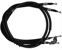 Cablu frana mana (centru) - auto cu tamburi (fara discuri)