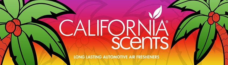 Odorizante auto California Scents