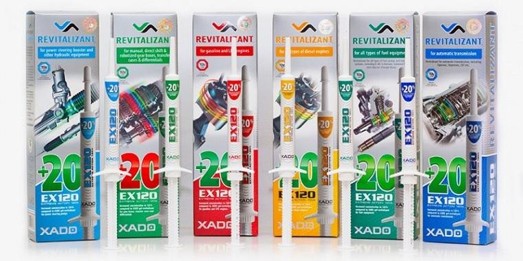 Tratament motor (benzina/GPL) Xado EX 120 - 8 ml