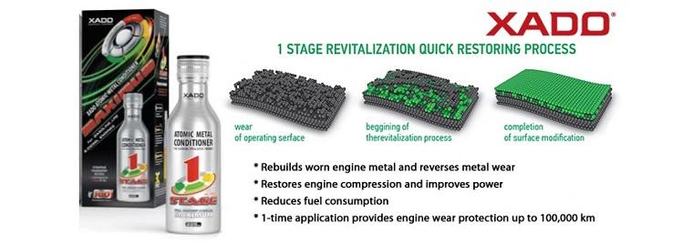 Tratament motor Xado 1 Stage Maximum Atomic Metal Conditioner