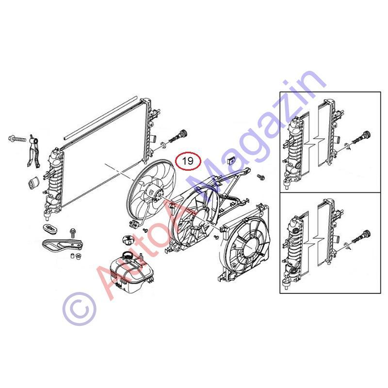 11 racire motor astra h z16xer  a16xer