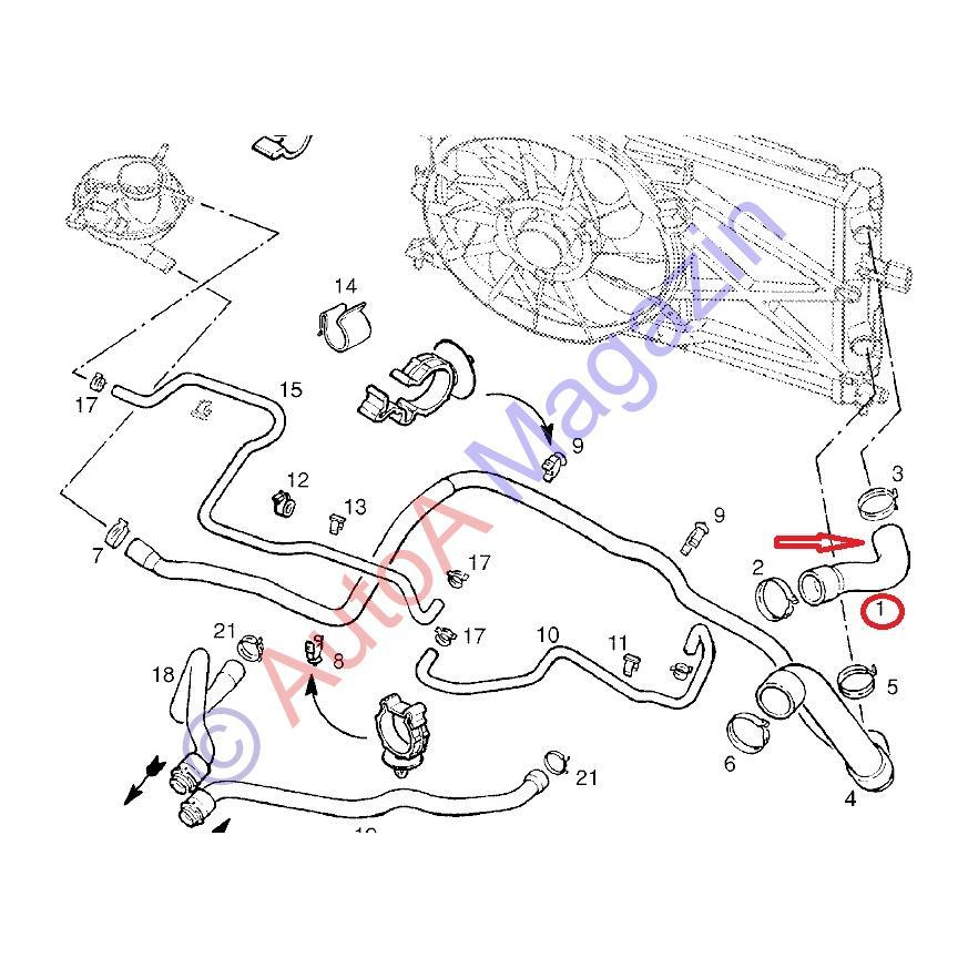 11 racire motor astra g z12xe