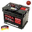 Acumulator auto Moll M3 Plus K2  62Ah / 600A