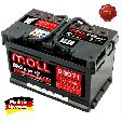 Acumulator auto Moll M3 Plus K2  71Ah / 620A