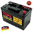Baterie auto Moll Kamina Start 95Ah / 640A - borna