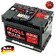 Baterie auto Moll M3 Plus K2  60Ah / 550A