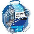 Set becuri auto halogen H4 Neolux Blue Light 12V, 60/55W